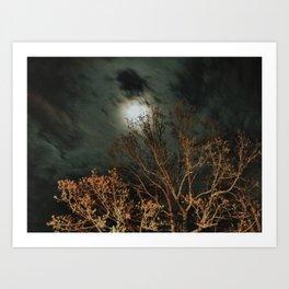 Mississippi Moon Art Print