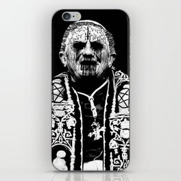 You Taste Like Death Pope iPhone Skin