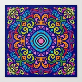 Mandala #4 – Love and Peace - Notebooks & more Canvas Print
