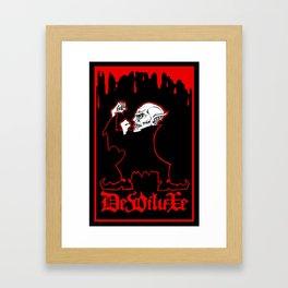 FIGHTIN' FERATU Framed Art Print