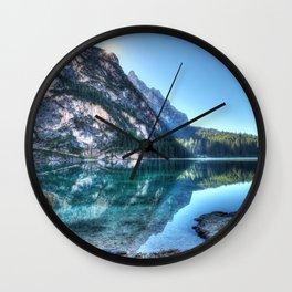 Blue Bliss Wall Clock