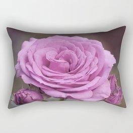Light Lilac Pink Rose #1 #floral #art #society6 Rectangular Pillow