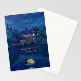When Marnie was there Stationery Cards