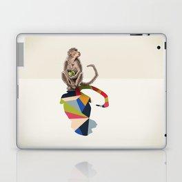 Walking Shadow, Monkey Laptop & iPad Skin
