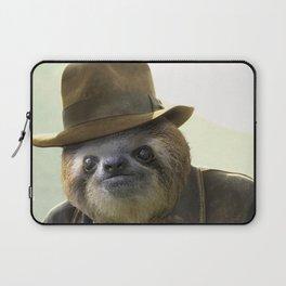 Archeologist Sloth Laptop Sleeve