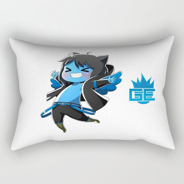 Chibi Luc (Expression 2) Rectangular Pillow