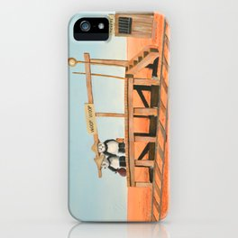Outback Train Station iPhone Case