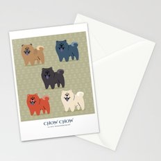 Chow Chow Stationery Cards