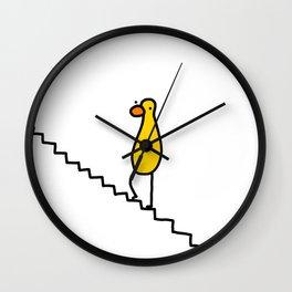 Step Step Stepping | Veronica Nagorny Wall Clock