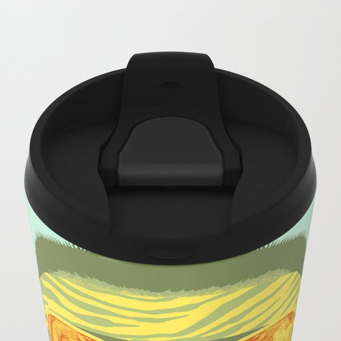 The Lebowski Series: Walter Metal Travel Mug