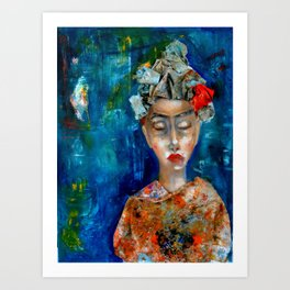 La llorona Art Print