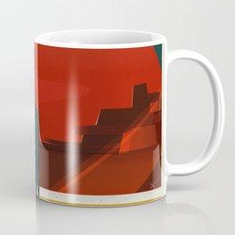 Vintage Adventure Travel Phobos and Deimos Coffee Mug
