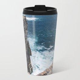 Cliffs off Dún Aonghasa Travel Mug