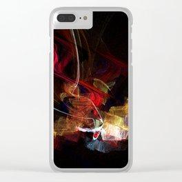 Mystic night Clear iPhone Case