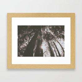farewell to summer Framed Art Print