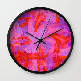 Fire Lining Wall Clock