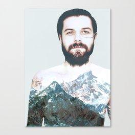 Simon Neil Mountains Canvas Print