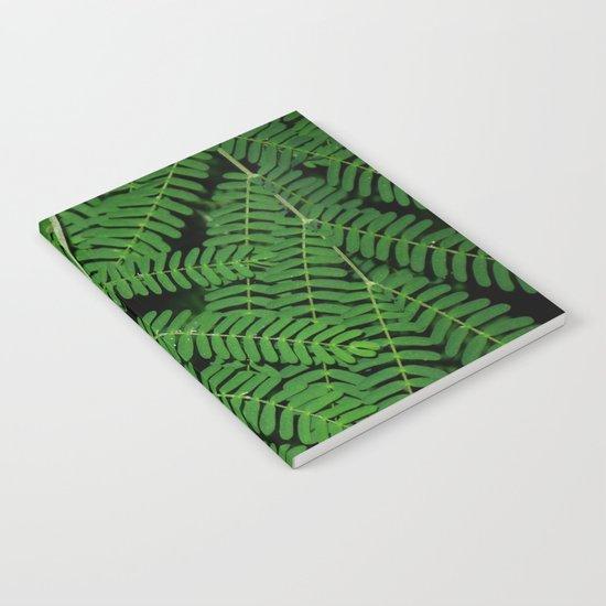 Green Ferns Notebook
