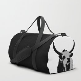 Bulls op art Duffle Bag