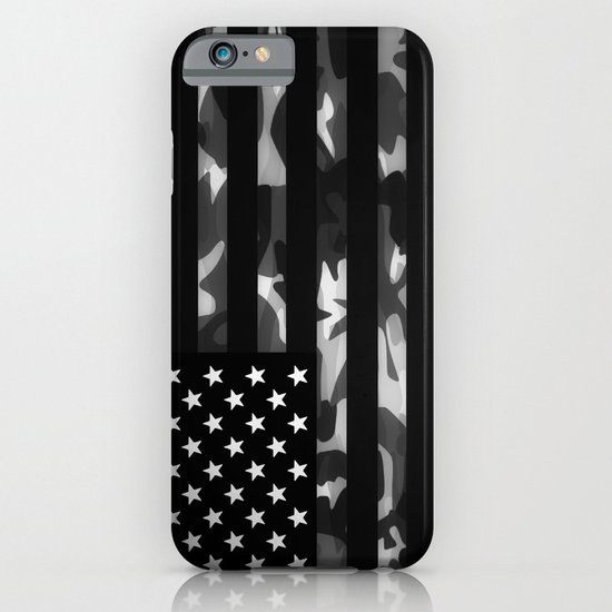 American camouflage iPhone & iPod Case