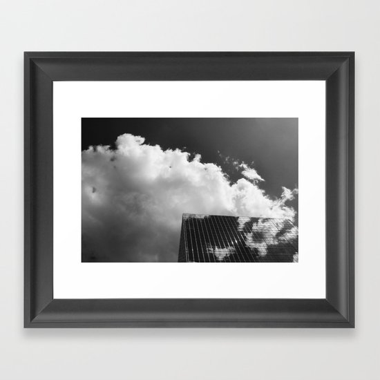 building-1 Framed Art Print