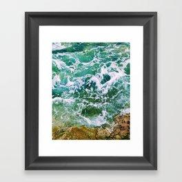 Waves pt. 4 Framed Art Print