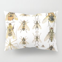 flying insects Pillow Sham