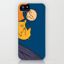 Golden Pig iPhone Case