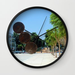 Tel Aviv photo - Habima Square - Israel Wall Clock