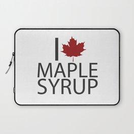 I heart MAPLE SYRUP Laptop Sleeve