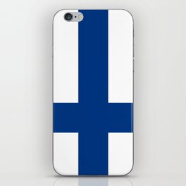 National flag of Finland iPhone Skin
