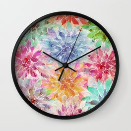 The Smell of Spring 3 Wall Clock