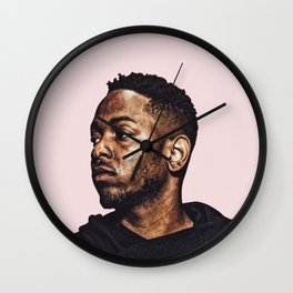 Kendrick Lamar Pop Art Print Wall Clock