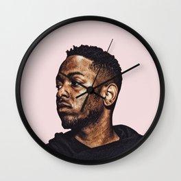 Kendrick Lamar Pop Art Print Wall Clock