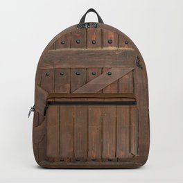 Brown Door Backpack