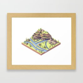 Riverways Framed Art Print
