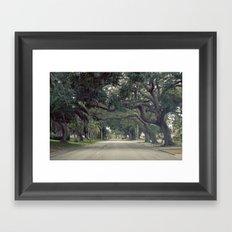 Marquee Framed Art Print