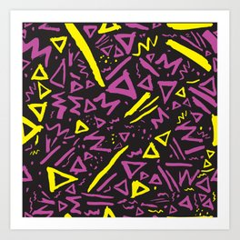 Dallas 1990s Art Print