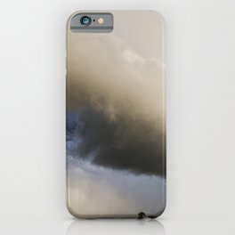 Shelf Cloud Over Country Road 3 iPhone Case