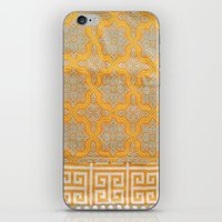 "orange pattern iPhone & iPod Skins featuring OrangE paTTern by ""CVogiatzi."