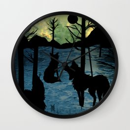 foxlight coldnight Wall Clock