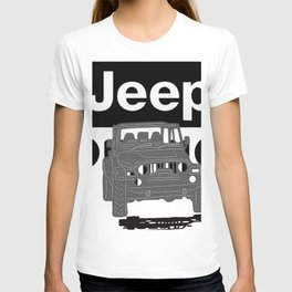 Jeep On the road T-shirt