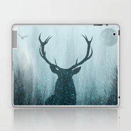 Snow Stag Silhouette Laptop & iPad Skin