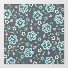 Whimsy Floral Canvas Print