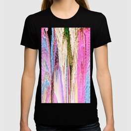 Pink Abstract Enlightenment T-shirt