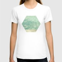 swim T-shirts featuring Morning Swim by Cassia Beck