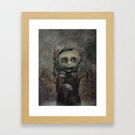Scarecrow Framed Art Print