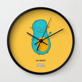 Furrrynutnuts Wall Clock