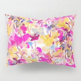 Local Color Yellow Pink Pillow Sham