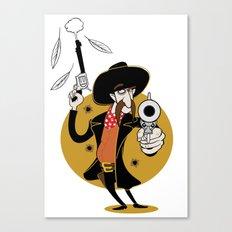 Dumb Cowboy Canvas Print